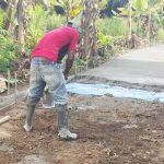 Pembangunan Jalan Rabat Beton Di Nagori Parriasan Minim Pengawasan dan Diduga Tidak Sesuai RAB