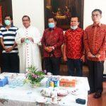 Uskup Agung Medan Doakan Calon Bupati Rapidin Simbolon