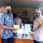 Polres Belawan Kunjungi Kesiapan PPKM Mikro Covid 19 di Dua Desa